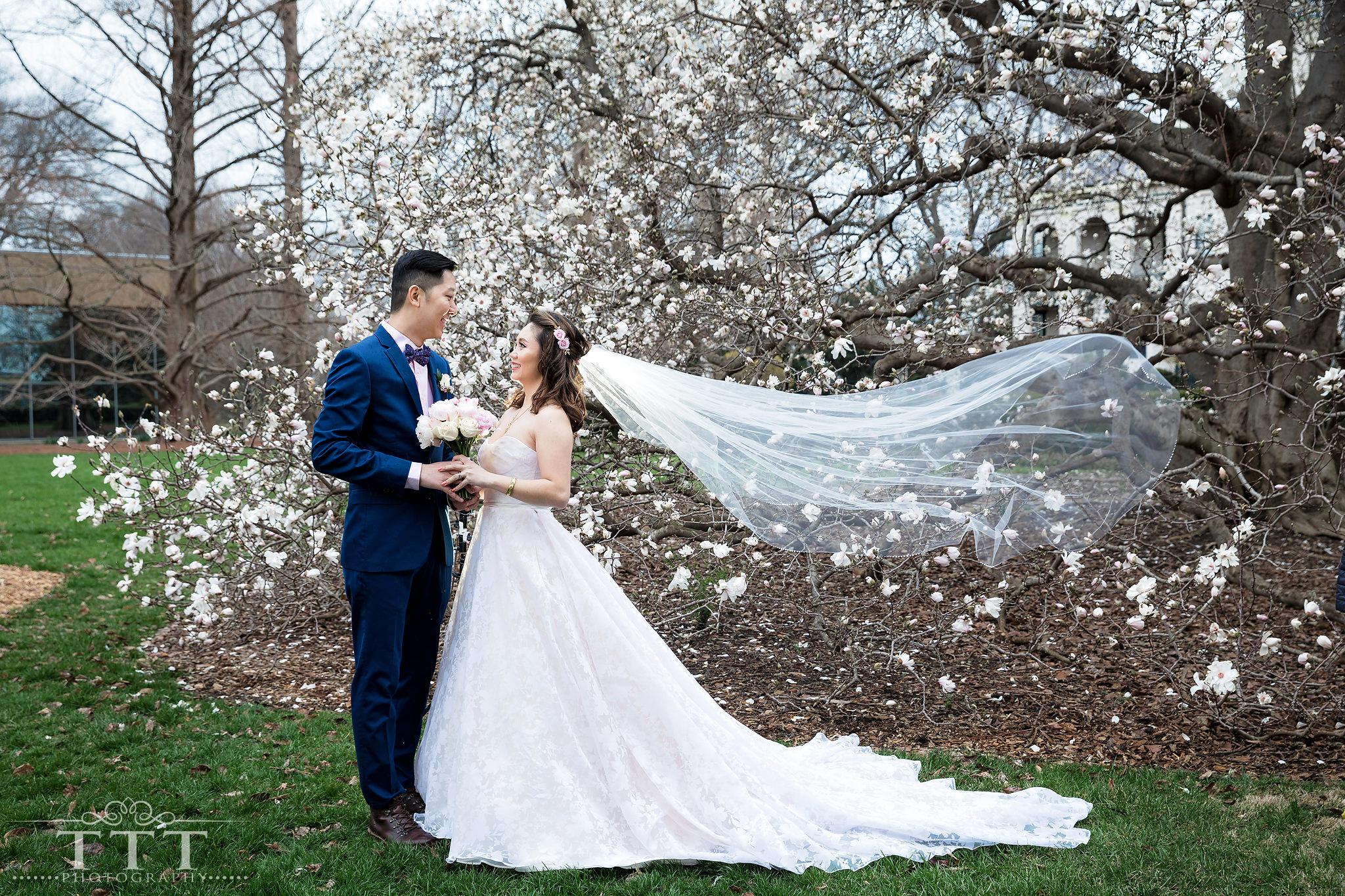 Ken Phuong Missouri Botanical Garden Wedding