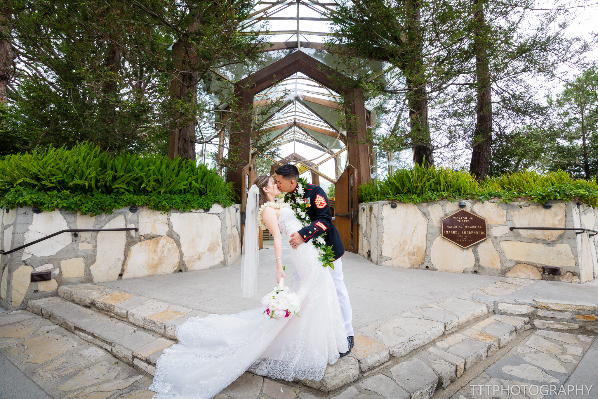 Wayfarers Chapel Wedding.Usmc Wayfarers Chapel Wedding Bluewater Grill Tttphotography